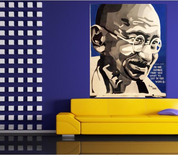 150-x-160-akryl-paa-lerret-ikke-oppspent-tittel-gandhi-pris-10000-nok