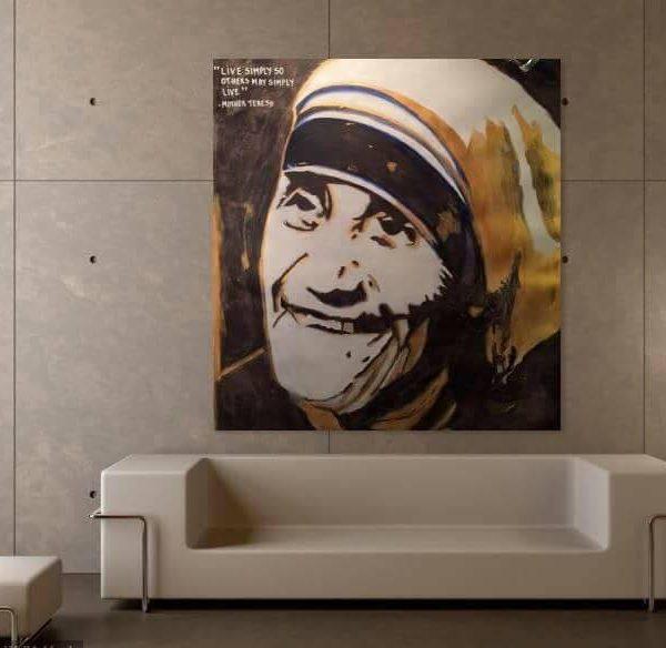 150-x-160-akryl-paa-lerret-ikke-oppspent-tittel-mor-teresa-pris-10000-nok
