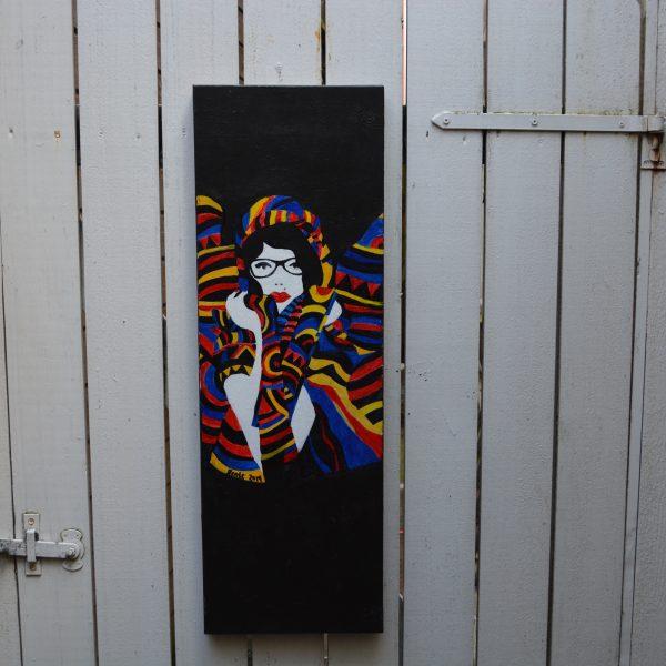 30-x-90-akryl-paa-lerret-tittel-fargerik-vinter-pris-1500-nok